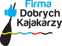 firma dobrych kajakarzy logo black